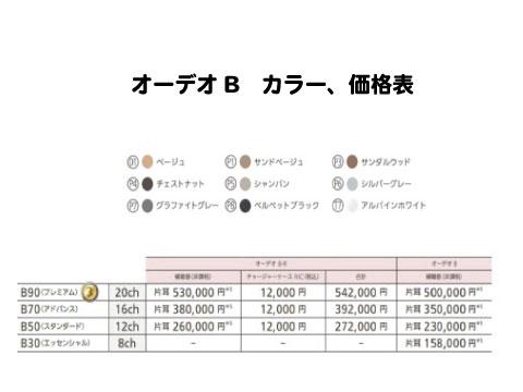 オーデオb 価格