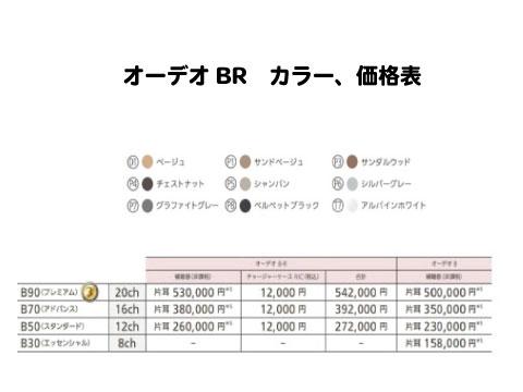 オーデオbr 価格